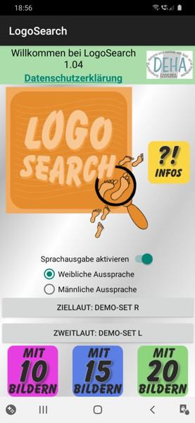 Startbild LogoSearch